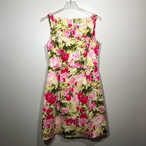Peter Nygard Floral Sleeveless Sheath Dres…